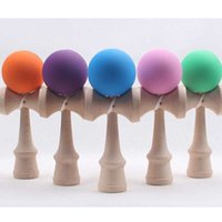 Wholesale Big size cm Kendama Ball Japanese Traditional Wood Game Toy Education Gift Amusement Toys colors Christmas Toy DHL Free
