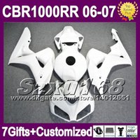 Wholesale Injection gifts Cowl ALL Gloss white For HONDA CBR1000RR CBR RR CBR1000 RR CBR RR gloss white Fairing