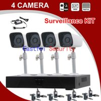 Wholesale 2015 NEWEST Channel TVL Weatherproof Surveillance CCTV Camera Kit Home Security DVR Recorder System