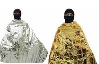 Wholesale 10Pcs Waterproof Emergency Survival Rescue Space Foil Thermal First Aid Blanket Tent