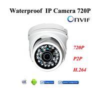 indoor mini dome ip camera - Gbargain ONVIF P HD MP Mini Dome IP Camera with Wired IP Camera Outdoor Indoor Waterproof IR Night Vision Metal Case for IE