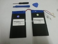 Wholesale 7 V mAh CUBE U30GT U30GT1 U30GT2 tablet battery plates MM MM Length MM