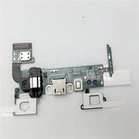 Wholesale Cellphone Replacement Charger Connector USB Micropho Audio Jack Built in Flex Cable For Samsung A5 A500 A5000 DHL Shipping For Free
