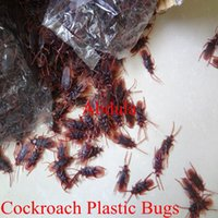 Wholesale Cheap Practical Jokes Toys Cockroach Plastic Bugs Drop Shipping Horror Toy Practical Jokes Toys Cockroach Plastic Bugs Horror Toy Funny Toys
