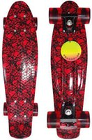 Wholesale 2015 New Pastel Color Penny Style Skateboard Inch Complete skating mini longboard Gift Retro Cruiser fish long board skate P1017