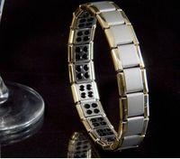beads germanium - 2015 NEW Energy Titanium Germanium Bracelet nano bracelet