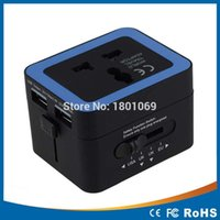 Wholesale Adaptor GSM Adaptor USB2 A charging socket conversion socket multifunction