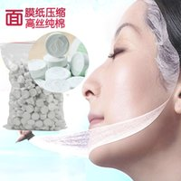 Wholesale 5PCS Papper Mask Facial Masks Face Skin Care Peels Accessory Compressed DIY Beauty Makeup Tools In Stock