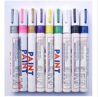 art car paint - oil marker Paint marker pen TOYO SA101 used to write cards for Wedding Thanksgiving for painting on your car bike