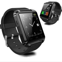 push button phone - Wrist Smart Watch Waterproof Phone Mate U8 Bluetooth Hot new arrival Silicone wristbands touch buttons