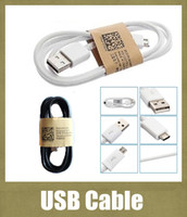 note 3 phone - cell phone usb cable original clone charging cable m ft fit for v8 samsung s4 s5 galaxy note HTC Huawei black white CAB001