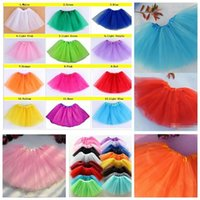 Tutu ballet dance tutu - 2015 girl candy color kids ballet skirt layers ball gown Cake skirts tutu pettiskirt Net yarn sequins dancing tutu skirts