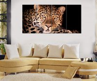 wall decor art canvas - HD Canvas Print home decor wall art painting Picture Leopard PC No stretch