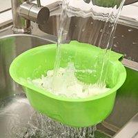 Wholesale Kitchen sink drain basket Drain fruit and vegetable rack shelf storage box multifunctional drain basket g