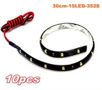 Wholesale Factory sale SMD LED Flexible Strip Light Bar LED car drl Light Car Lighting waterproof