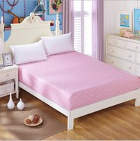 Wholesale High Quality Reactive Printing Colored Mattress Cover Cotton Fitted Bed Sheet CM006