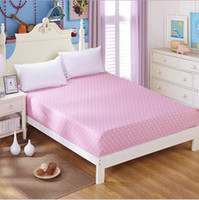 Wholesale Reactive Printing Cotton Mattress Bed Cover Mattress Protector Covers Fitted Sheet Girls QM006