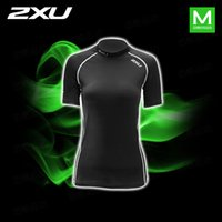 Wholesale 2016 Hot sell XU Women Compression Running Tights Short Sleeve T shirt for female