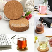 cork coasters - 6pcs Round shape Plain Cork Coasters Drink Wine Mats Cork Mats Drink Wine Mat cm cm ideas for wedding and party gift