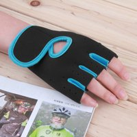 Wholesale New Men Women Sport Fitness Cycling Gym Half Finger Weightlifting Gloves Exercise Training Gloves
