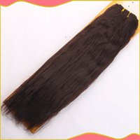 Natural Wave yaki weave hair - Blended hair weave hair extensions serena yaki inch PC factory on sale
