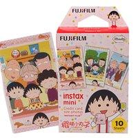 Wholesale 10 Sheet Maruko chan Photo Pap For er Instax Mini Film Shoot For Polaroid Instant Camera mini7s mini8 mini25 mini50 mini90