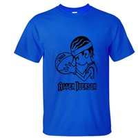allen iverson clothing - 1 piece Cotton T shirts short Sleeve cute Allen Iverson sport Tees O Neck Tops fashion men women clothing