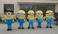 Mascot Costumes minion costume - 2014 styles Despicable me minion mascot costume for adults despicable me mascot costume
