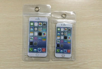 beach iphone cases - 1000Pcs mobile phone Waterproof Bag Case Cover Beach Pouch For iPhone Mobile Cell Phone and inch Grain leather Cell Phone bag case