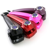 Wholesale DHL LCD Pro Hair Curler Styler Heating Hair Styling Tools Automatic Hair Curl Magic Hair Curlers Wand EU US Plug