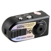 ccd mini digital video camera - Q5 HD Mini Thumb DV DVR Digital Spy Camera Recorder Motion Detection Video HD P Black