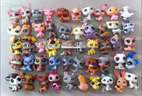 Wholesale The head can rotate Q Pet Littlest Pet Shop LPS Animals Toy