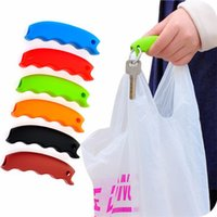 Wholesale Hot sale Carrying Handle Tools bag clips Kitchen Tools Silicone Relaxed Carry Shopping Handle Handler
