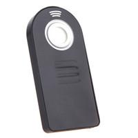 Wholesale IR Wireless Infrared Shutter Remote Control for Nikon ML L3 D7100 D7000 D90 D3300 D3200 V3 V2 DSLR Camera