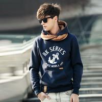 Wholesale Mens Hoody Sweatshirt Long Sleeve Hoodies Jacket Jumper Coat Tops Pockey Sweater