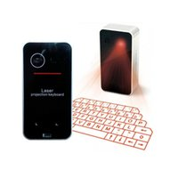 apple keyboard size - Full Size Wireless Bluetooth Virtual Laser Projection Keyboard Mini Keyboard For Apple Android Cell Phone Tablet Laptop