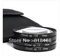 Wholesale 10pcs mm GREEN L Macro Close Up Lenses Filter Kit for Digital Camera For Canon D D D D D D