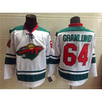 Wholesale Wild Hockey Jerseys New Collection Mikael Granlund White Hockey Shirts High Quality Mens Hockey Uniform Comfortable Sports Jerseys