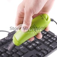 Wholesale 100pcs lejoy Laptop PC Mini USB Keyboard Vacuum Cleaner Dropshipping