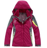 Wholesale 2014 Winter New Man Women The Northhh Outdoor Faceee Sportswear Softshell Jacket Windproof Water Proof Breathable Outdoor Ski Suit Coats