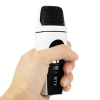 Wholesale 20pcs Mini Portable Handheld Microphone for Karaoke Player for Android Smart Phone Tablet PC IOS Phone Windows PC D5274B