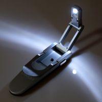 bendable reading glasses - LIXADA Portable Bendable Folding LED Book Clip Reading Desk Lamp Automatic Lighting Stretching Modern Design