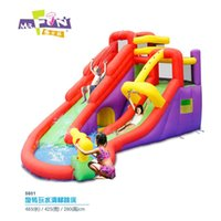 Wholesale children s inflatable castle trampolineplayground slide bouncer New