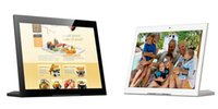 Wholesale 10 inch android wifi digital picture frame lcd advertising internet radio Quad core GB DDR3 GB hdd IPS hdmi