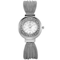 Cheap HOT!!!2016 Bracelets woman Diamond Luxury Shining Lady Watch,Round Leisure Japan Movements Watch (Brown, silver, gold,black)