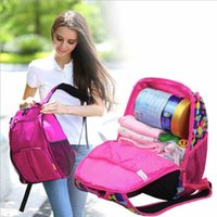 Wholesale Hain multi functional Mummy bag diaper bag nursery bag Backpack Backpack outdoor Backpack Large capacity Mummy bag