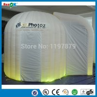 Wholesale New inflatable photo booth inflatable photobooth inflate photobooth for sale