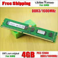Wholesale New GB DDR3 PC3 MHz For Desktop PC DIMM Memory RAM pins For AMD SocketAM3 AM3 System High Compatible