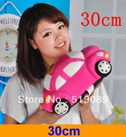 Wholesale cm quot Cars Plush Toys Very Cute Child Car Pillow Cushions Plush Toys Best Gift For Kids