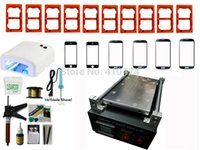moulding machine - Full Set Vacuum LCD Separator Machine With Moulds For Iphone Sumsung Touch Screen Glass Lens Repair Built in Pump
